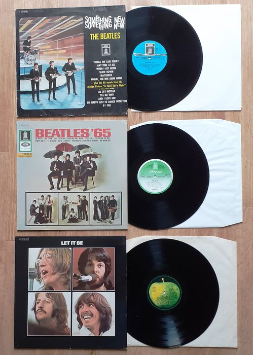 Beatles - Three Very Wanted German re-issues from 3 very important records - Multiple titles - LP's - 1977/1981