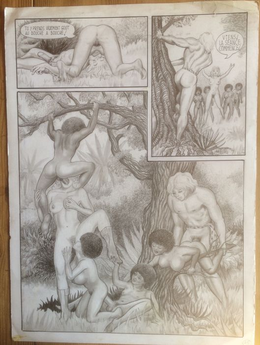 BD Climax 13 - Original page - Tarzoon