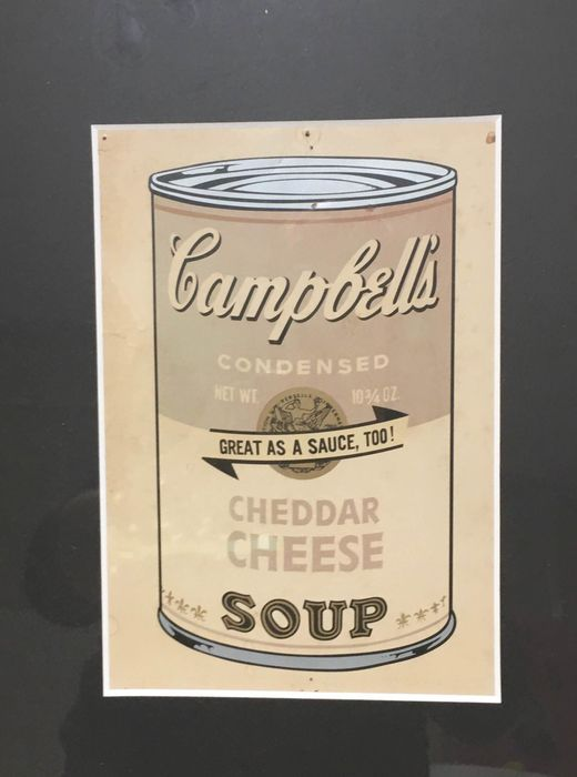 Andy Warhol  - Campbells Soup invitation card
