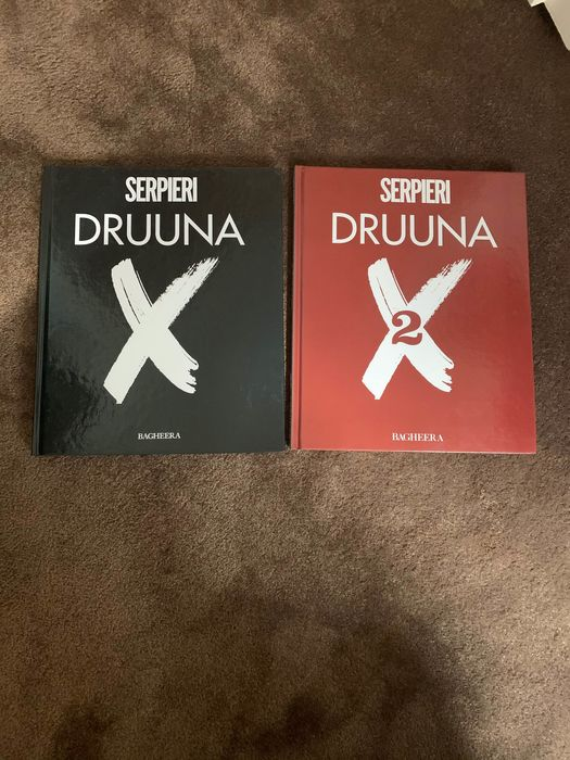 Druuna X - Tome 1 et Tome 2  - Hardcover - First edition - (1997/1998)