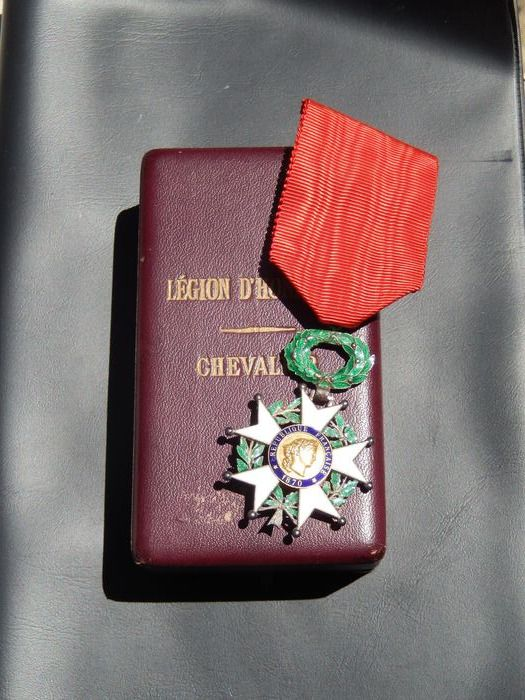 USA - Medal legion of honor 1870 original box (E11J) Elite armed award - Medal - 1918