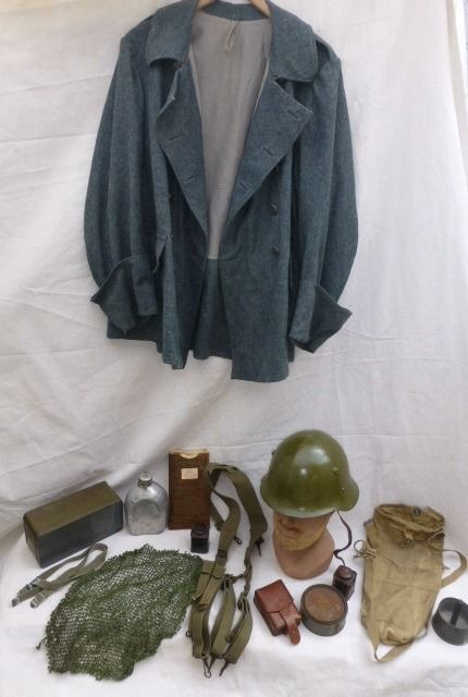 England, Bulgaria, Switzerland and US - Lot of variables including steel helmet, jekker, suspender etc.