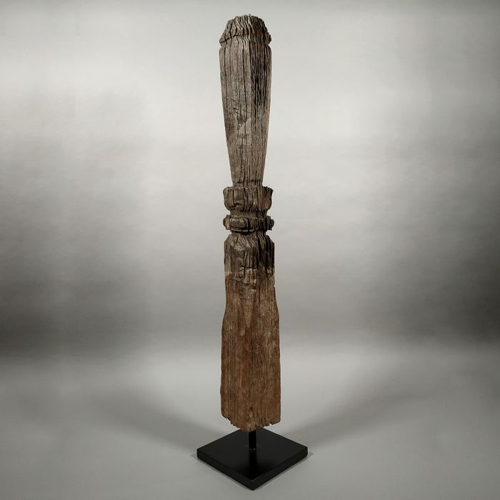 Old Wooden Fence Post - 100 cm - Wood - Kalimantan, Indonesia