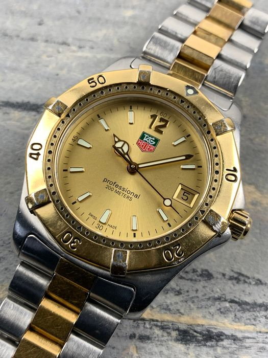 TAG Heuer - Professional 200M Two-Tone - WK1121 - Men - 1990-1999