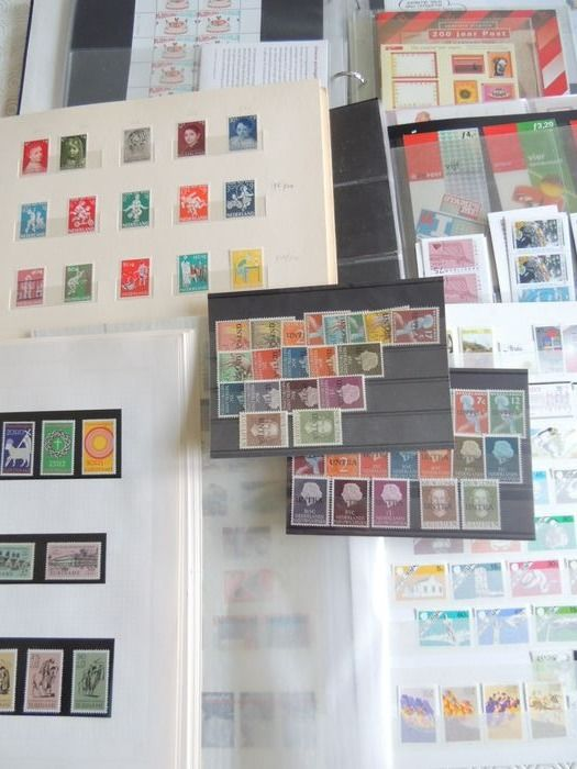 Netherlands and overseas - Collection including some FDCs.
