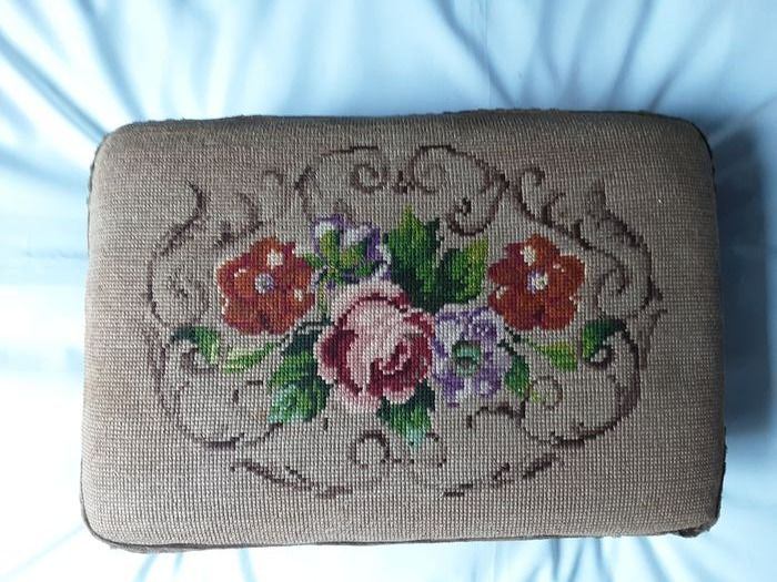 Embroidery, Stool