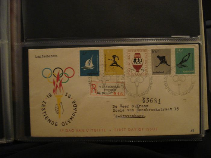 Netherlands 1956/2007 - Collection of FDCs in five albums