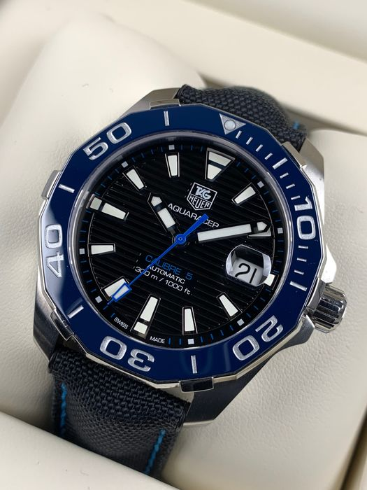 TAG Heuer - Aquaracer 300M Calibre 5 Automatic Set 2019 - WAY211B - Men - 2011-present