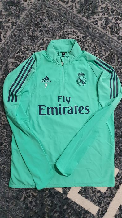 Real Madrid - Champions Football League - Eden Hazard - 2020 - Match Issued Halfzip sweater