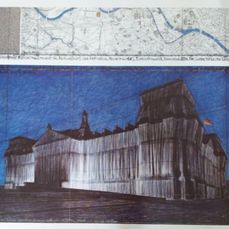 Christo - Reichstag - giant graphic