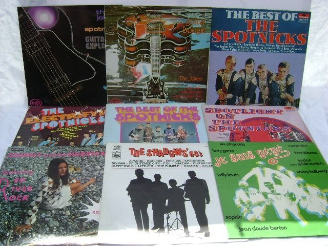 Various Artists/Bands in 1960's - Multiple artists - Multiple titles - LP Album - 1965/1974