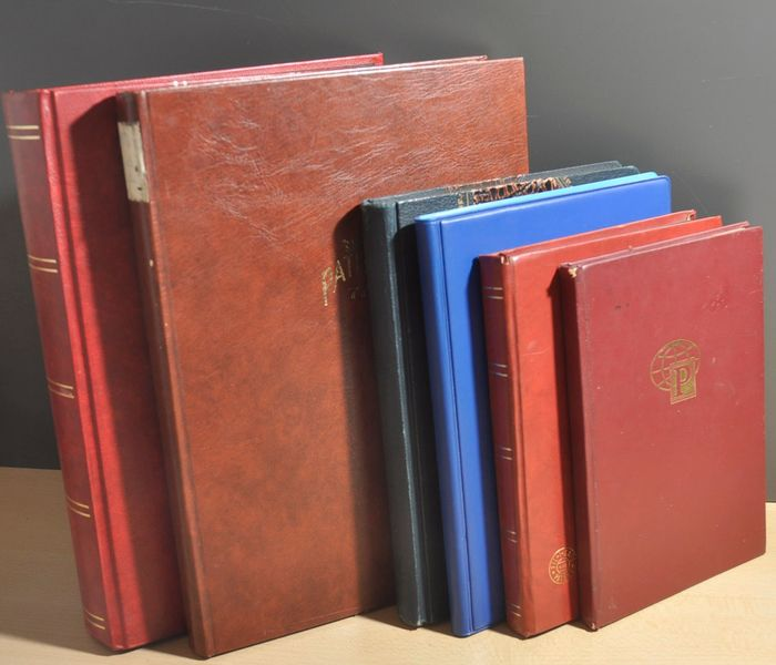 Netherlands - Batch in various stock books