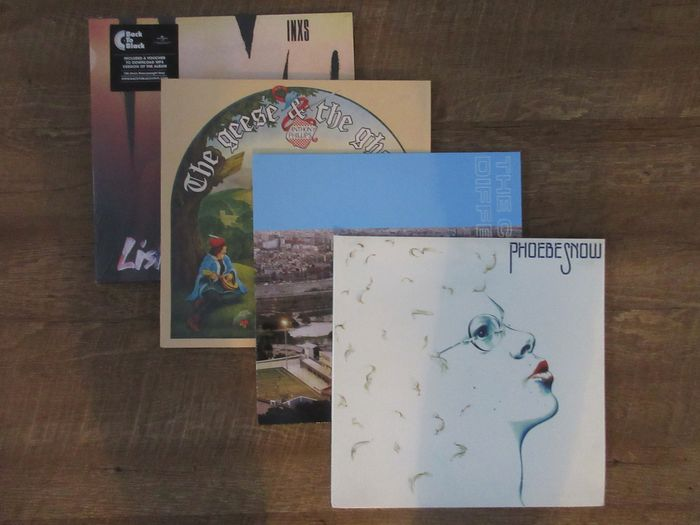 Various Artists/Bands in Rock - Phoebe Snow - The Charlatans - Inxs - Anthony Phillips - LP's - 2011/2017