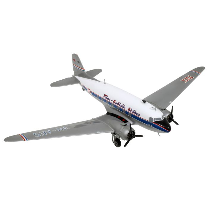 maßstabgetreues Modell, Douglas DC-3 - Trans Australia Airlines - 1:50 - Holz