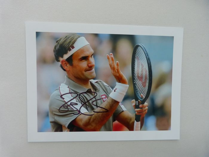 Tennis - Roger Federer - fan card