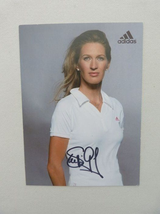Tennis - Steffi Graf - fan card