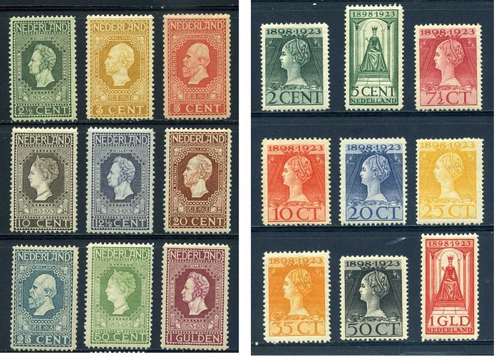 Netherlands 1913/1923 - Independence and Government jubilee