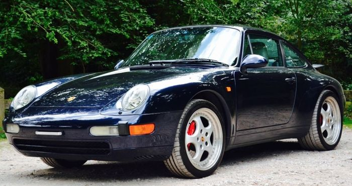 Porsche - 911 - 993 Carrera Coupe - 1996