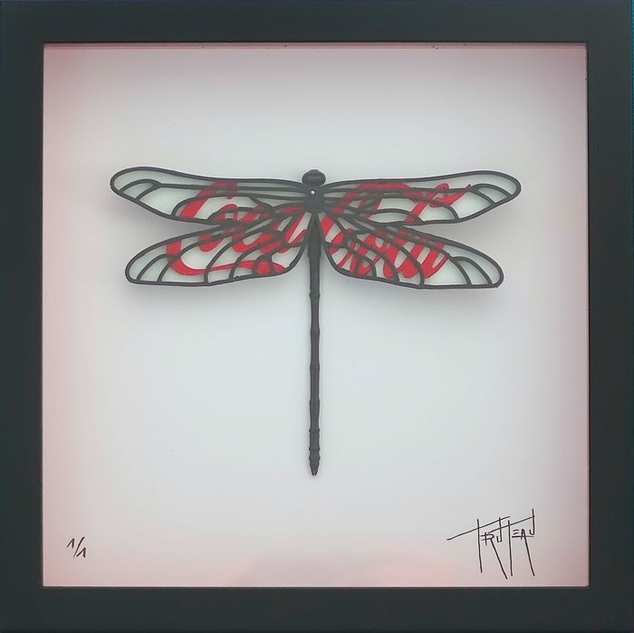 Truteau - Nature is Business (Dragonfly, Red, Coca-Cola)