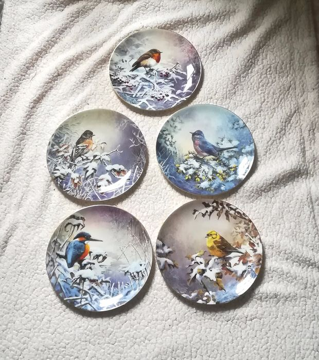 Wedgewood - The winter garden collection - plate (5) - Porcelain