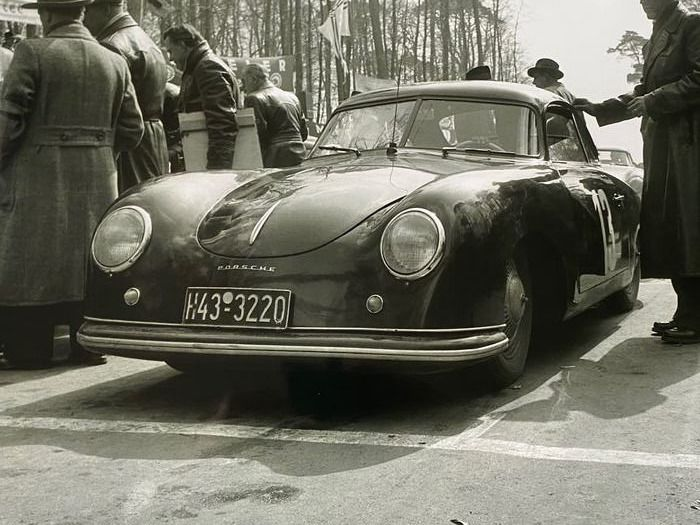 Photo - Porsche 356 1952  Dieburger Dreicks  Rennes photograph - Porsche - Post 2000