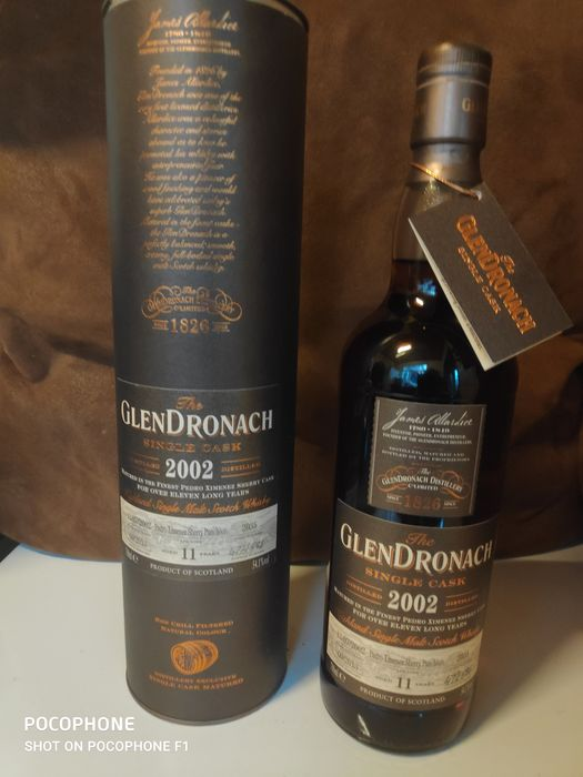 Glendronach 2002 11 years old Single cask 2002 - 700ml - 686 bouteilles