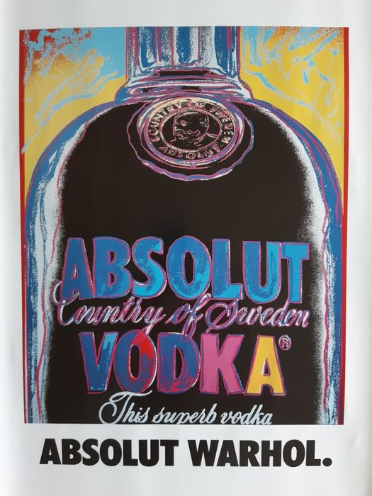 Andy Warhol (after)  - Absolut Warhol - 1985