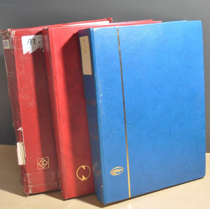 Asia - Batch in various stock books