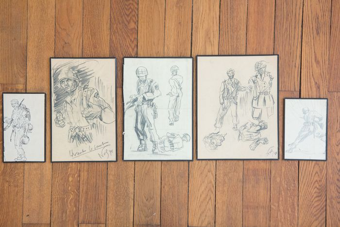 France - Paratroops - Drawings - 1970