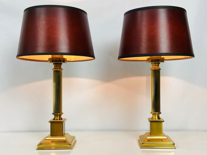 Beautiful set of table lamps Herda Holland - Regency Style