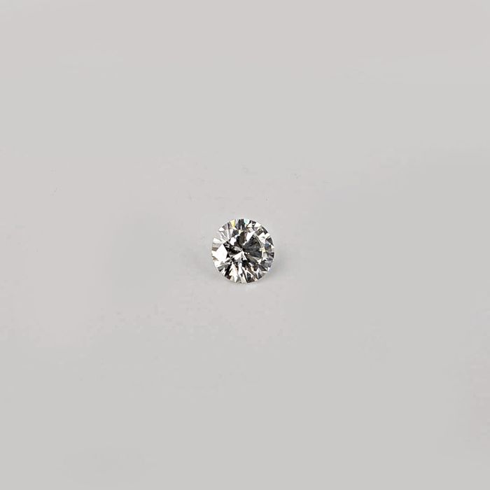 1 pcs Diamond - 0.31 ct - Brilliant, Round - G - SI1