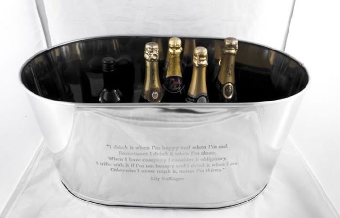Bollinger Champagne - Ice bucket (1) - Nickel-plated