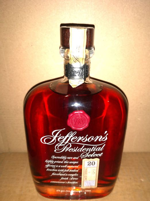 Jefferson's Presidential 20 years old - 750ml