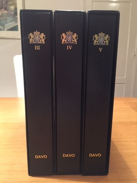 Netherlands 1969/2001 - Collection in three DAVO LX albums