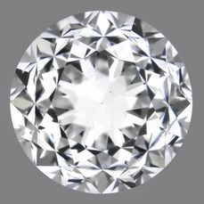 1 pcs Diamant - 0.50 ct - Brilliant - E - VS1, No Reserve
