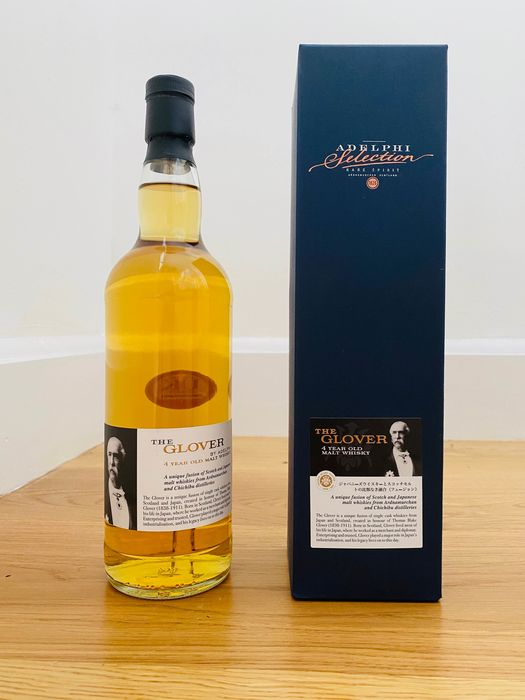 The Glover 4 years old Batch 5 - Chichibu and Ardnamurchan - Adelphi - 70cl