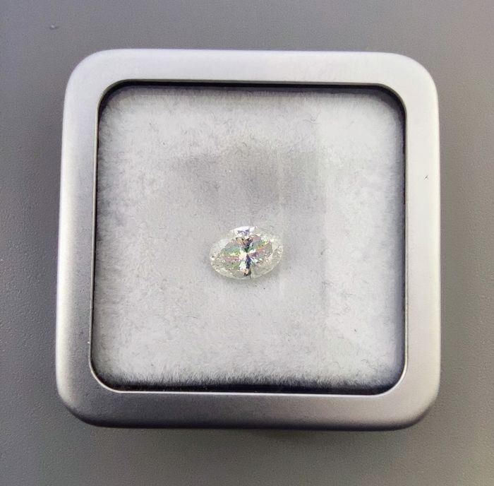 1 pcs Diamonds - 1.05 ct - Oval - H - I1