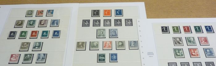 Netherlands 1937/1940 - Selection of series