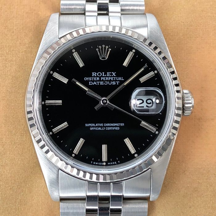 Rolex - Datejust - 16234 - Men - 1980-1989