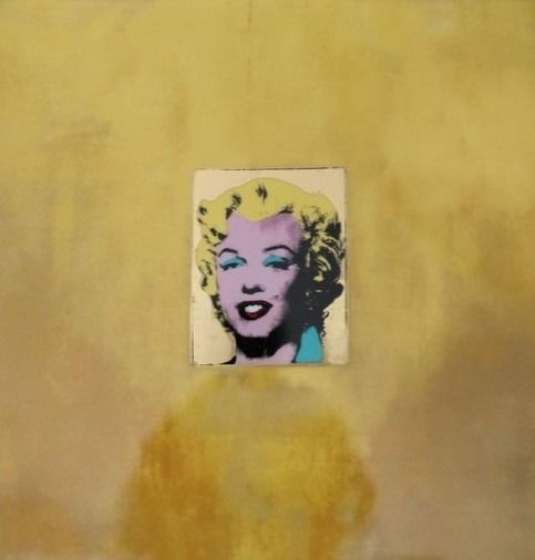 """Andy Warhol (after) x Rosenthal - """"Gold Marilyn Monroe"""" 1962"""