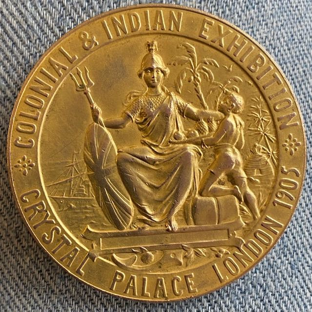 India-British India and East India Company - Award, Medal
