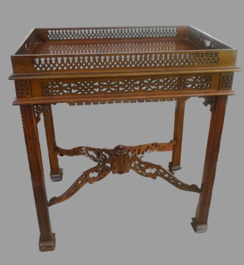 Chinoise butler's tray - Victorian Style