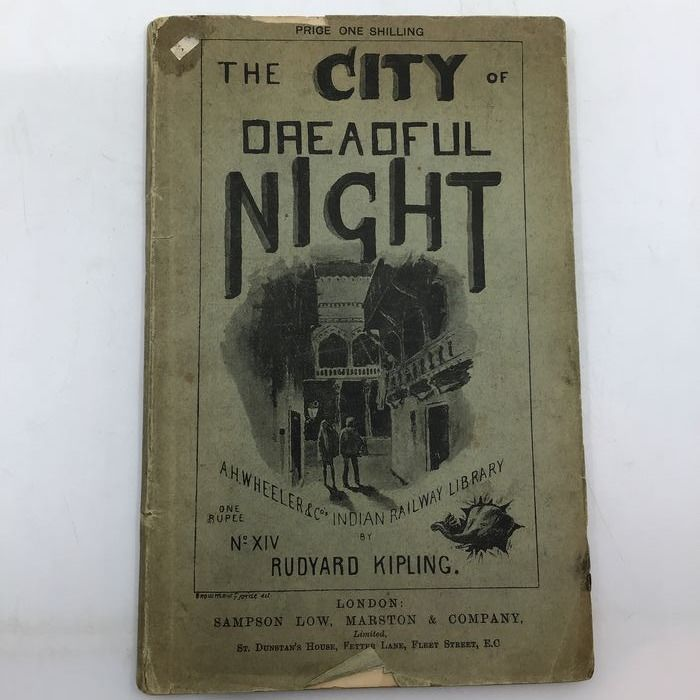 Rudyard Kipling - The City of Dreadful Night, and Other Places - 1891