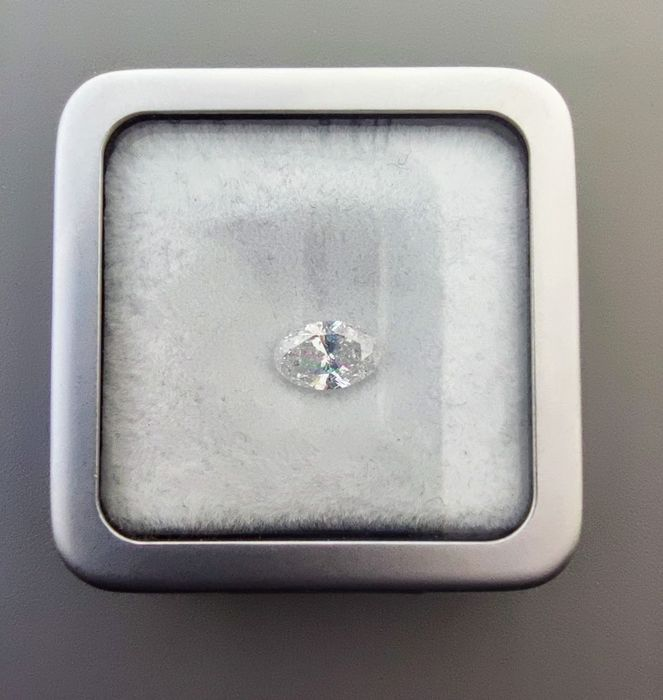 1 pcs Diamonds - 1.01 ct - Oval - D (colourless) - I1