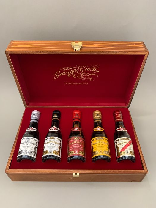 Giuseppe Giusti - Balsamic vinegar - 5 bottles (100ml(