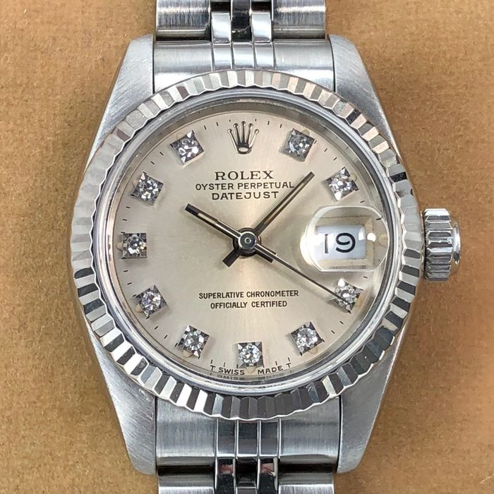 Rolex - Datejust Lady Diamond Dial  - 69174 - Women - 1990-1999