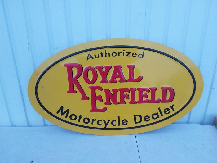Sign - Royal Enfield - After 2000