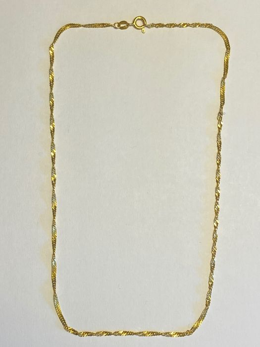 21,6 kt. Yellow gold - Necklace