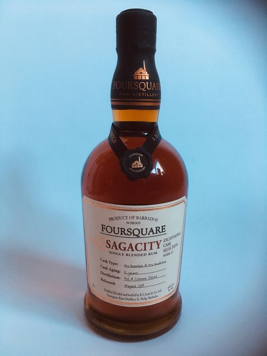 Foursquare 12 years old - Sagacity - Exceptional Cask selection - b. 2019 - 700ml