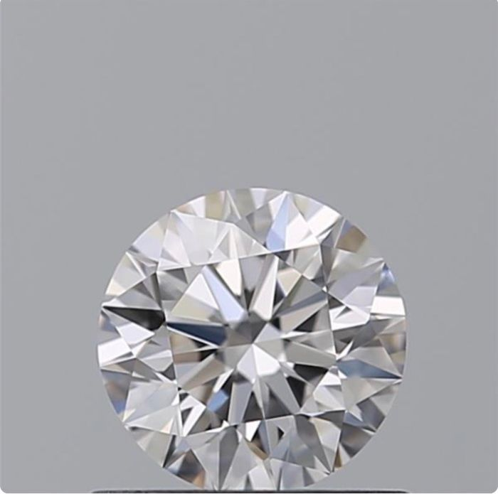 1 pcs Diamond - 0.56 ct - Brilliant - D (colourless) - IF (flawless)